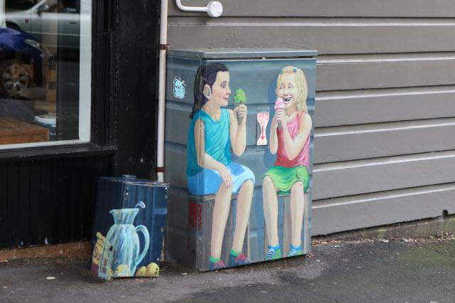 オークランド街角アート